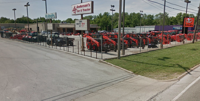 Anderson's Car & Tractor Location